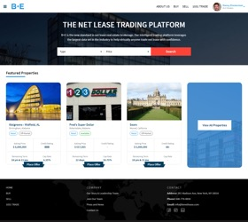 B+E launches 1031 Trade, an online trading platform