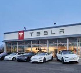 Property of Tesla's only Cleveland area dealer for sale
